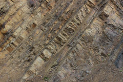 Rockowe warstwy Zdjęcie Royalty Free