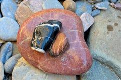 Rockowi otoczaki, Sesriem jar. Namibia fotografia royalty free