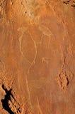 Rockowi rytownictwa przy Twyfelfontein, Namibia Obraz Stock