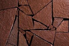 Rockowy ścienny tło Obrazy Stock