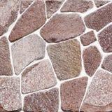Rockowy ścienny tło Obraz Royalty Free