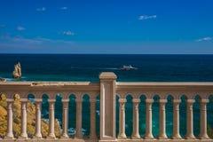 Rockowy żagiel w Gaspra Yalta Zdjęcie Stock