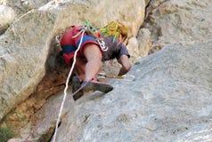 Rockowy arywista z dredlocks Obraz Stock
