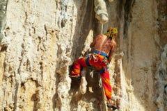 Rockowy arywista z dredlocks Zdjęcie Stock