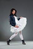 Rockowy baletniczy tancerz zdjęcie stock