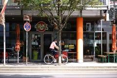 Rockowy Café chili pieprz Mainz Zdjęcie Royalty Free