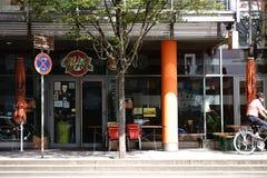 Rockowy Café chili pieprz Mainz Obraz Stock