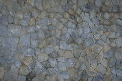 Rockowy ściana wzór Zdjęcie Stock