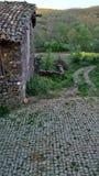 Rockowy dom w Braganca Fotografia Stock