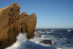 rockowy formaci morze Obrazy Royalty Free