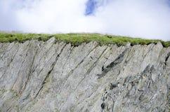 Rockowy góry tło Obraz Royalty Free