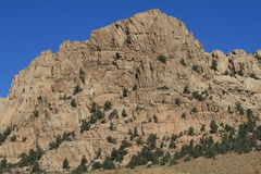Rockowy halny szczegół Zdjęcie Royalty Free