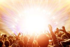 Rockowy koncert fotografia royalty free