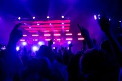 Rockowy koncert Zdjęcie Stock