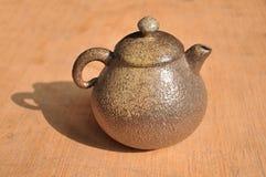 Rockowy Kopalny Teapot w Tajwan Zdjęcia Stock