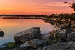 Rockowy krajobraz Zdjęcie Stock