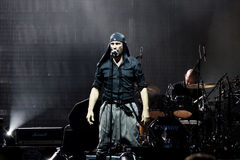 rockowy laibach piosenkarz Obraz Royalty Free