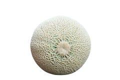 Rockowy melon Odizolowywający, zielone melon sieci zdjęcie royalty free