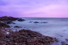 rockowy morze fotografia stock