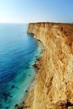 rockowy morze Zdjęcie Royalty Free