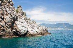 rockowy morze Obraz Stock