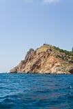 rockowy morze Fotografia Royalty Free