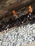 Rockowy ogień Obrazy Royalty Free