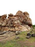 Rockowy ogród, Andhra Pradesh, Kurnool Obraz Royalty Free