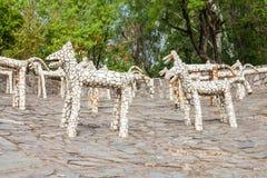 Rockowy ogród, Chandigarh Zdjęcia Stock
