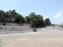 Rockowy ogród Chandigarh, India zdjęcia stock