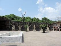 Rockowy ogród Chandigarh, India obraz stock
