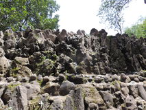 Rockowy ogród Chandigarh, India fotografia stock