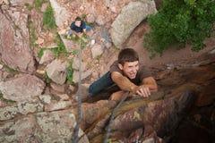 Rockowy pięcie w Kolorado Zdjęcie Stock