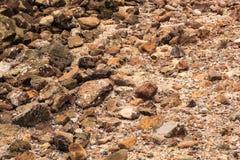 Rockowy piasek Zdjęcia Stock