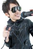 Rockowy piosenkarz Fotografia Stock