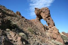 rockowy powulkaniczny Fotografia Royalty Free