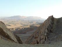 Rockowy pustynia krajobraz Obraz Stock