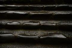 Rockowy schodek Obrazy Royalty Free