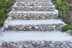 Rockowy schody Fotografia Royalty Free
