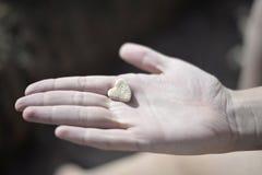 Rockowy serce obrazy royalty free