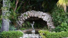 Rockowy statuaryczny, Ann Norton rzeźby ogródy, Zachodni palm beach, Floryda obrazy stock