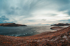 Rockowy szamanu jezioro Baikal Obrazy Royalty Free