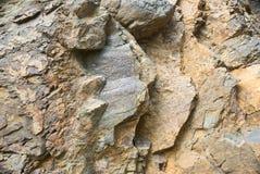 Rockowy tekstury i powierzchni tło Obrazy Royalty Free
