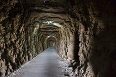 rockowy tunel Obrazy Stock