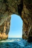 Rockowy łuk, Capri Zdjęcie Stock