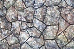 Rockowy weall Obraz Royalty Free
