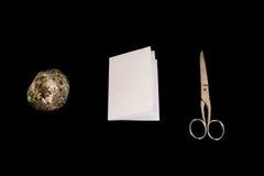 Rockowych Papierowych nożyc tła decyzi Gemowi Czarni Odosobneni przedmioty Fotografia Stock