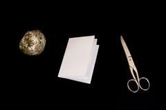 Rockowych Papierowych nożyc tła decyzi Gemowi Czarni Odosobneni przedmioty Zdjęcia Stock