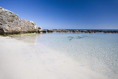 Rockpool at stokes bay, Kangaroo Island Stock Images