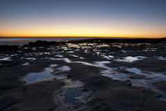 Rockpool Sunrise Stock Image